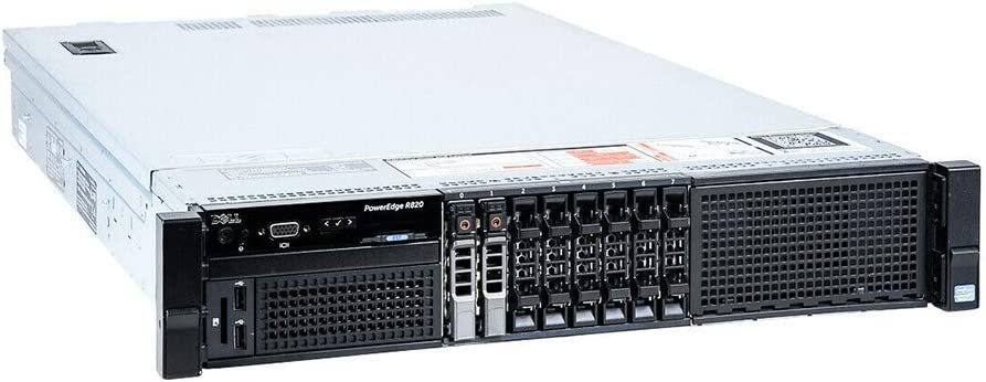 Dell PowerEdge R820 Server | 4X E5-4620 2.20GHz - 8 Cores | 64GB RAM | H710 | 4X 500GB SAS (Renewed)