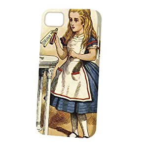 Case Fun Apple iPhone 5C Case - Vogue Version - 3D Full Wrap - 3D Full Wrap - Alice in Wonderland Drink Me