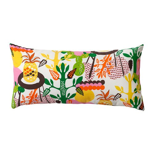 IKEA KNAPPSAV - Almohada, multicolor - 30x60 cm: Amazon.es ...