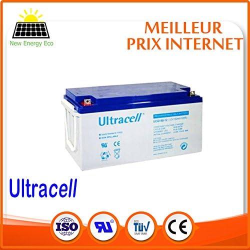 Batería Gel Solar 12 V 150 Ah UCG Ultracell: Amazon.es: Electrónica