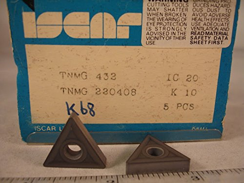 (Iscar - Tnmg 432 Ic20 Iscar Carbide Inserts (5Pcs))