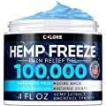 Coldee Pain Relief Hemp Oil Gel 100 000 Mg 4 Oz Max Strength Efficiency Natural Hemp Extract For Arthritis Knee Joint Back Pain Made In Usa Hemp Cream For Inflammation Sore Muscles