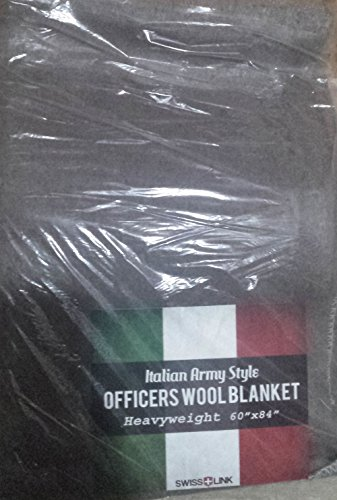 swiss link Officers Reproduction Wool Blanket ()