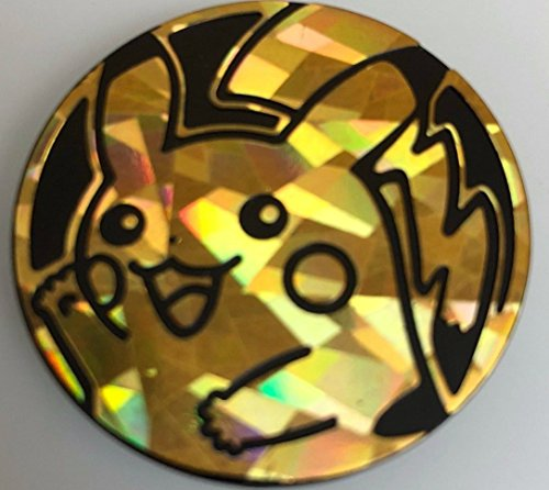 Sets Gold Cracked Ice (Pikachu Coin from the Pokemon Trading Card Game (Large Size) - Gold Cracked Ice Holofoil)