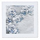 3dRose Danita Delimont - Flowers - Floral holiday window display, New York City, NY, USA. - 18x18 inch quilt square (qs_259790_7)