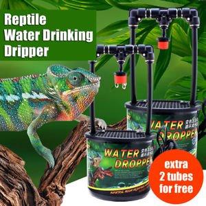 Slb Works Brand New Reptile Drinking Water Dripper Lizard Dispenser