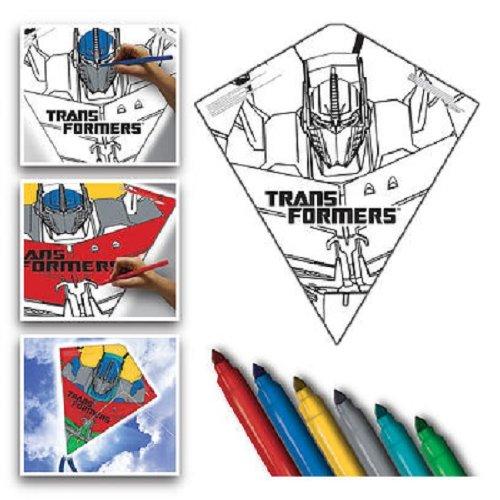 Transformers Color Me Kite 26-inches Tyvek Diamond Kite