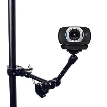11 pulgada clip articulado brazo mágico + Super Pinza cangrejo alicates para Logitech Webcam C922 C930e C930 C920 C615: Amazon.es: Electrónica