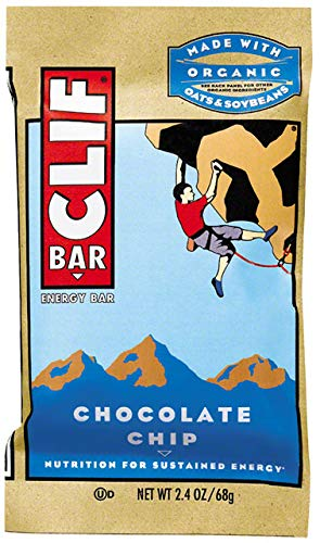 Clif Clif Energy Bar, Chocolate Chip, 12 ea
