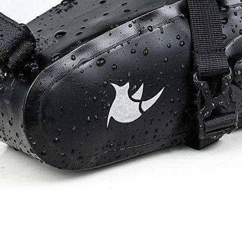 Waterproof Bicycle Saddle Bag Bike bag under seat bag Rainproof Mountain Road Bike Seat Bag Bicycle Bag Professional Cycling Accessories by Rhinowalk (Image #4)