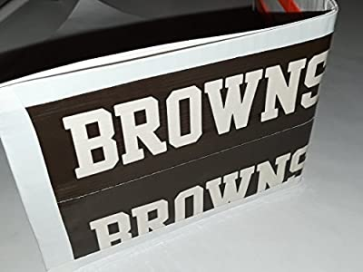 Cleveland Browns NFL Football Bi-Fold Duct Tape Wallet
