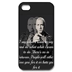 Cool Painting Eminem Custom Cover Case for Iphone 4,4S,diy phone case case-690461