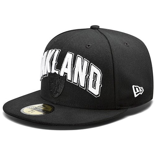 NFL Child Oakland Raiders Draft 5950 Cap, Black, 6 ()