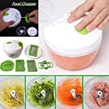 Best As Seen On TV meat slicers - Botrong Multi-function Salad Crusher Food Processor Manual Meat Review