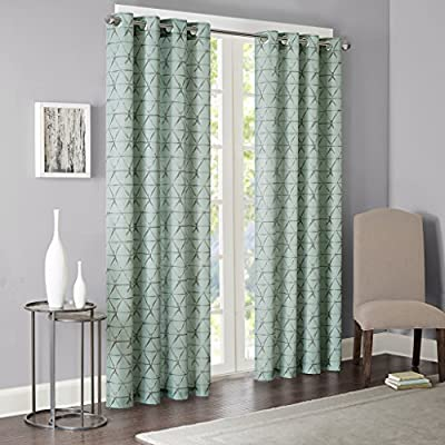 Amazon.com: Blue Curtains for Living Room, Modern ...