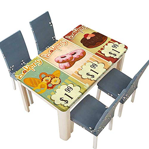 PINAFORE Table in Washable Polyeste Bakery of Delicious