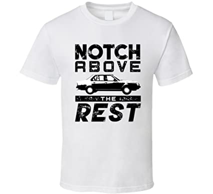1980 Renault 18 1 6 Turbo Notch Above Car T Shirt S White