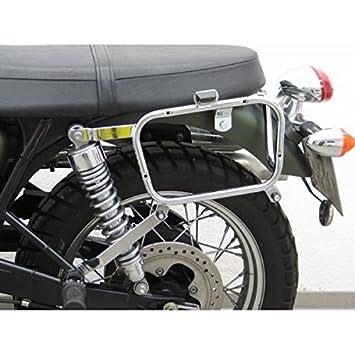Triumph GIVI/Kappa 6080 ST - Soporte de maletas laterales o alforjas GIVI o Kappa para moto Triumph Bonneville T100-05/15-SE Scrambler-06/12: Amazon.es: ...