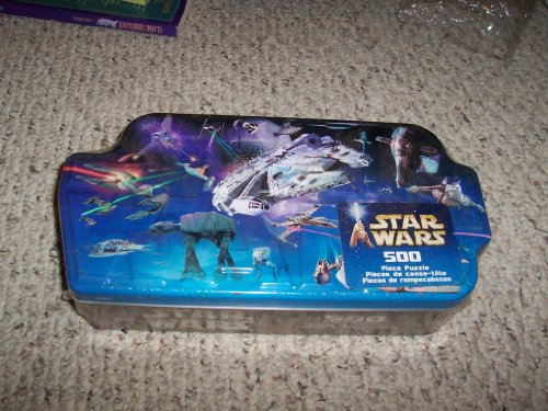 STAR WARS MOVIE VEHICLES 500 PC JIGSAW PUZZLE IN COLLECTOR TIN