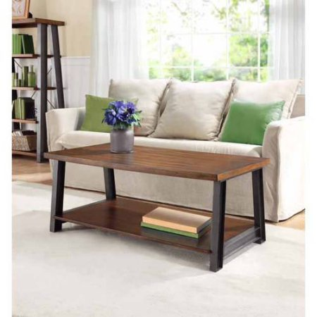 Better Homes and Gardens Mercer Coffee Table, Vintage Oak (Home Depot Furniture)