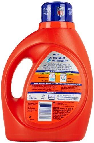 Tide He Liquid Laundry Detergent Original Scent 100 Fl