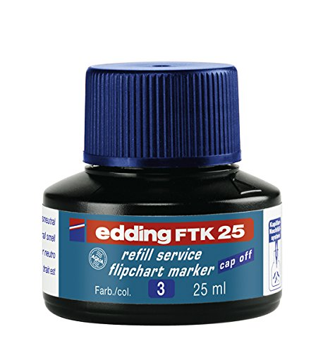 Edding Marker Flipchart Refill Ink for Blue
