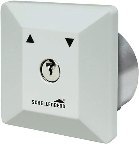 Schellenberg - Interruptor con llave para instalación empotrada ...