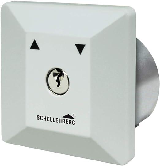 Schellenberg - Interruptor con llave para instalación empotrada: Amazon.es: Iluminación