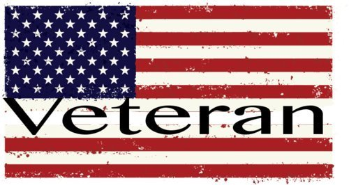 (ION Graphics Magnet Veteran - American Flag Veteran Vinyl Magnet - Veteran Vinyl Magnet - Military - Perfect Veteran Gift - Made in The USA Size: 4.000