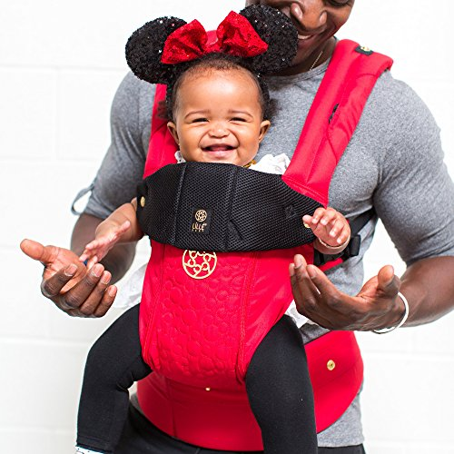 Image of the SIX-Position, 360° Ergonomic Baby & Child Carrier Disney Baby Collection by LILLEbaby – The Complete Embossed All Seasons (Mickey)