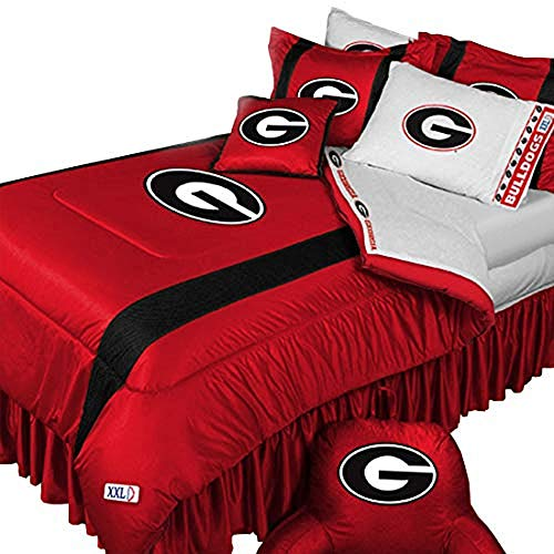 georgia bulldogs comforter queen - 5