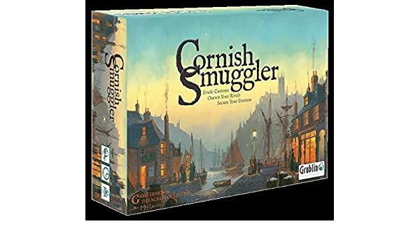 Amazon.com: Cornish Smuggler SW by Board Games Grublin Games: Toys & Games