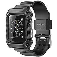 Estuche Apple Watch 2, SUPCASE [Unicorn Beetle Pro] Estuche protector resistente con bandas de correa para Apple Watch Series 2 Edición 2016 [42 mm, compatible con Apple Watch 42 mm Primera generación 2015] (Negro)