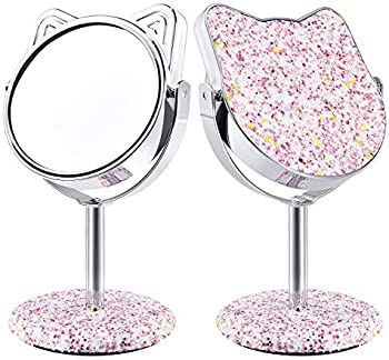 Derui Creation Lovely Kitty Shape Vanity Mirror