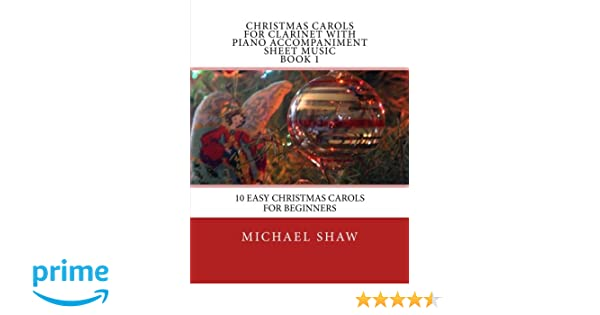 Amazon.com: Christmas Carols For Clarinet With Piano Accompaniment ...