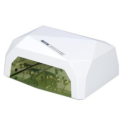 Lámpara de Uñas UV Gel 36 W Profesional LED CCFL Polaco Secador de Uñas de Arte