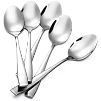 Eslite 12-Piece Large Stainless Steel Dinner Spoons,8 Inches