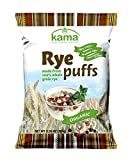 ORGANIC Whole Grain Rye Puffs Breakfast Cereal | No Added Sugars No Preservatives Non GMO |Good Source of Fiber | All Natural Healthy Nordic Breakfast Cereal | 3.53OZ 100 grams For Sale
