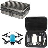 DZT1968 Waterproof Handbag Case Protective die-cut Case with Zipper Carbon Hard Bag For DJI Spark Drone