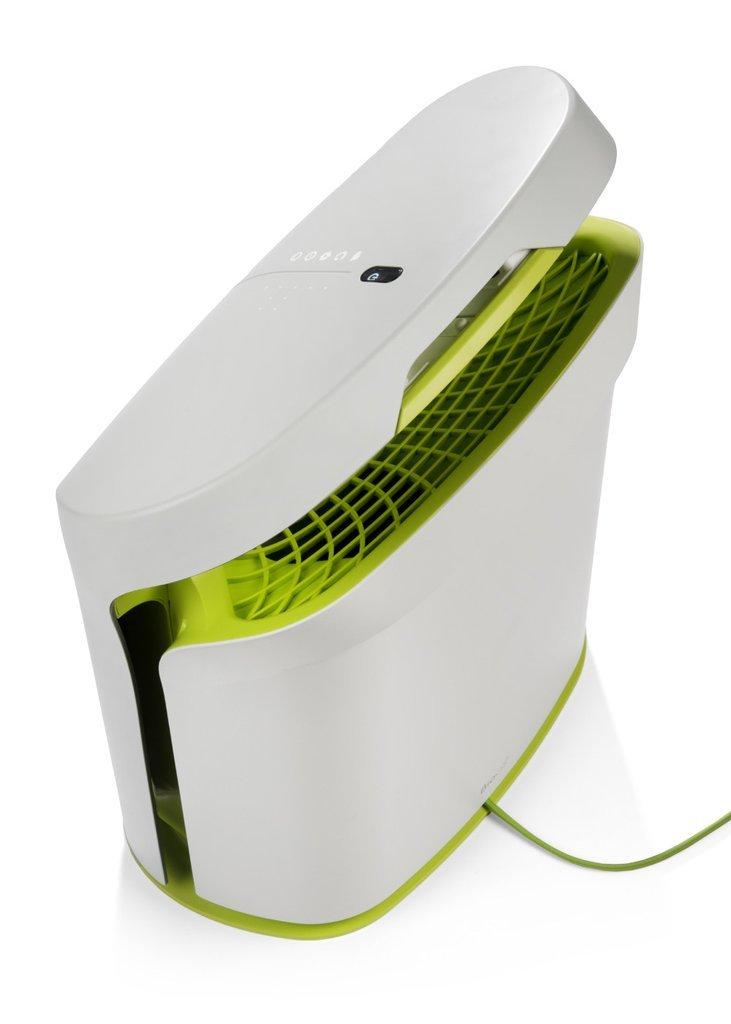 RabbitAir BioGS 2.0 Ultra Quiet HEPA Air Purifier SPA-625A Tone Leaf