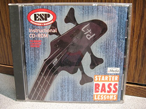 (eMedia Starter Bass Lessons CD-ROM ESP Guitars & Basses 2002 eMedia [CD-ROM])