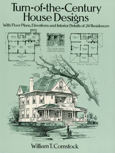 Amazoncom Turn Of The Century House Designs With Floor Plans
