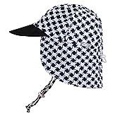 Baby Toddler Kids UPF 50 Sun Protection Adjustable Neck Flap Hat (Cap S: 0...