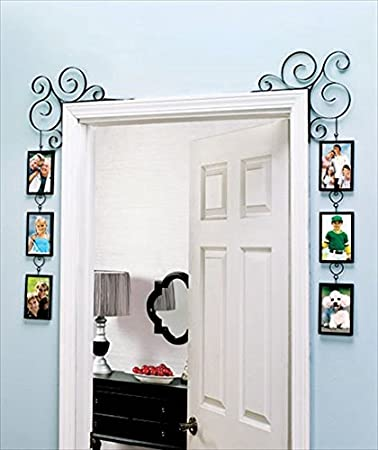 unique wall picture frame great for a collage family tree decorative scroll photo gallery frame set