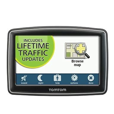 TomTom XXL 550TM 5-Inch Portable GPS Navigator Lifetime Traffic and Maps Edition