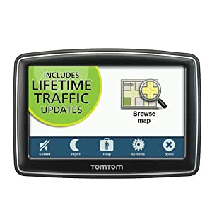 TomTom XXL 550T 5-Inch Portable GPS Navigator (Lifetime Traffic Edition)(Discontinued by Manufacturer)