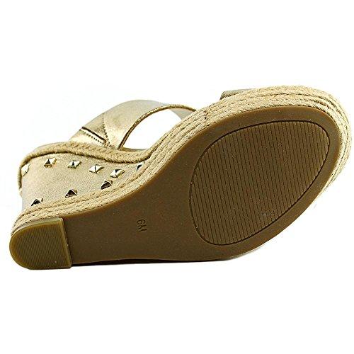 G By Guess Decaf Pelle sintetica Sandalo con la Zeppa