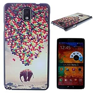 GJY Colorful Balloons Pattern PC Hard Case for Samsung Galaxy Note 3