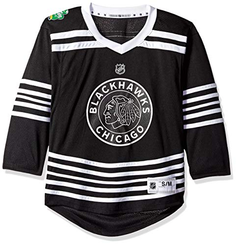 Outerstuff NHL NHL Chicago Blackhawks Youth Boys Winter Classic Replica Jersey, Multi, Youth Large/X-Large(14-18)