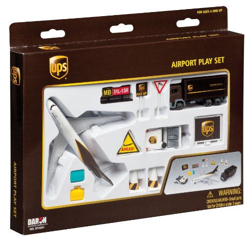 Price comparison product image Daron UPS Airport Playset